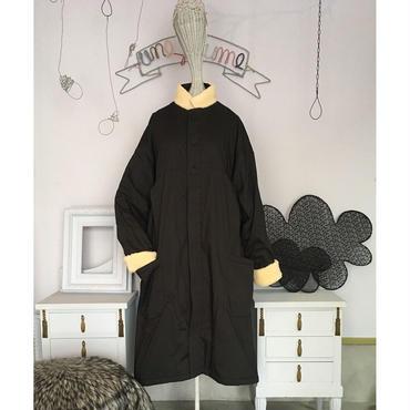 folk made  boa coat