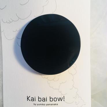 kai bai bow!丸ヘアクリップ L