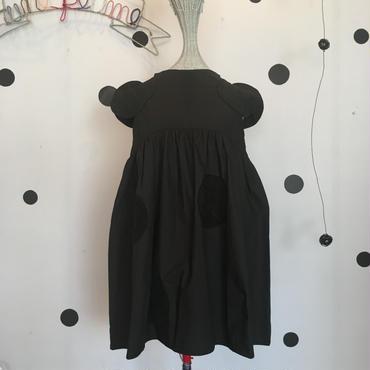 frankygrow  UNEVEN DOTS  SLEEVES  DRESS