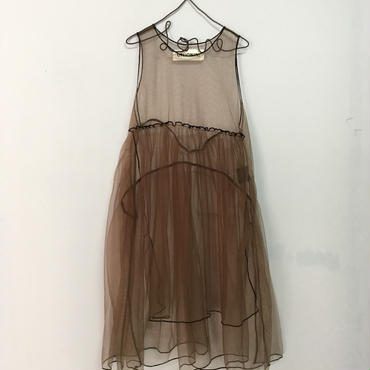 UNIONINI  tulle  apron  dress