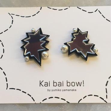 kai  bai  bow!  いびつ星イヤークリップ