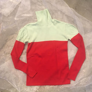 frankygrow  high- neck  knit