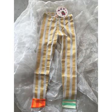 ZoZIO  stripe  leggings   GOLD