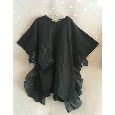 UNIONINI  ○△dress  ブラック