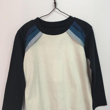 nunuforme   グラデーションTシャツ  Msize