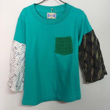 loulou クシュクシュ袖Tシャツ  110size
