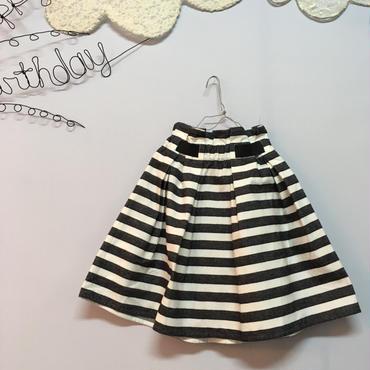 nunuforme  ボーダースカート