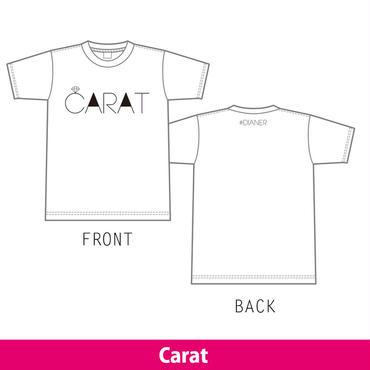 Carat Tシャツ ライブ限定販売中