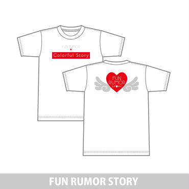 FUN RUMOR STORY  TシャツColorful Story ver.