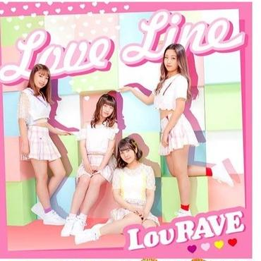 LovRAVE  First Single「Love Line/浪花ナデシコ」