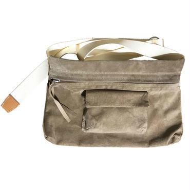 Hender Scheme - waist belt bag wide beige