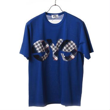【在庫有・要問合せ】eYe JYUNYA WATANABE MAN パッチロゴTシャツ ブルー