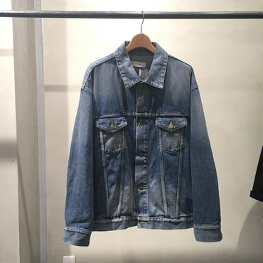 FACETASM WASHED RIB DENIM JACKET MRC-JK-U02