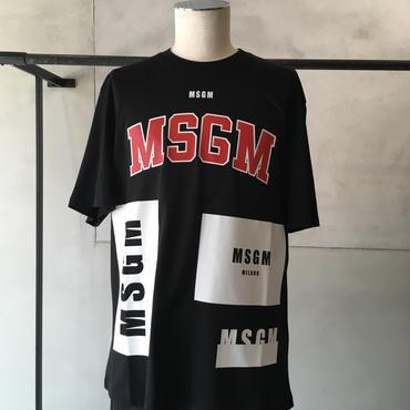 MSGM  ロゴT-シャツ