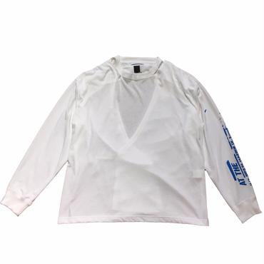 FACETASM バックオープンロングTシャツ 1サイズ