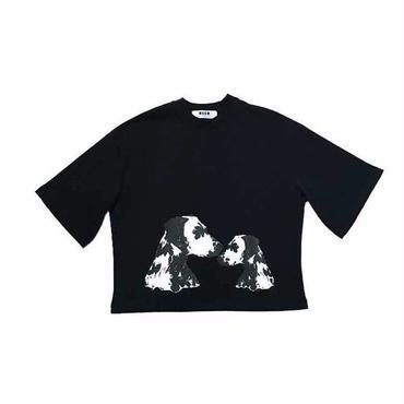 MSGM  ダルメシアンプリントTシャツ