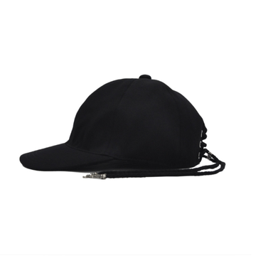 CHRISTIAN DADA    BACK LACE-UP COTTON CAP