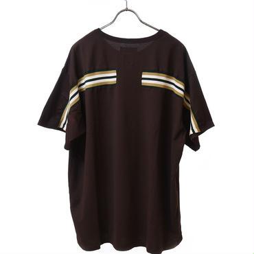 FACETASM  リブBIG Tーシャツ ブラウン