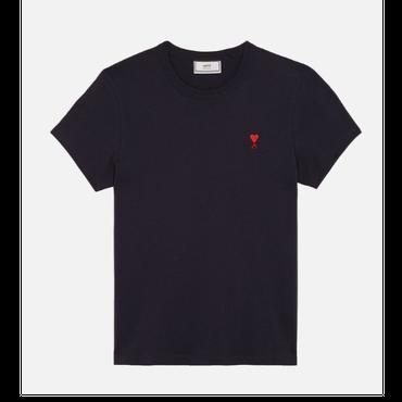 ネイビー コットンジャージー Tシャツ E18J107.71