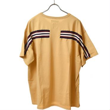 FACETASM  リブBIG Tーシャツ ベージュ