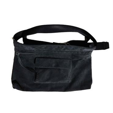 Hender Scheme - waist belt bag wide dark gray