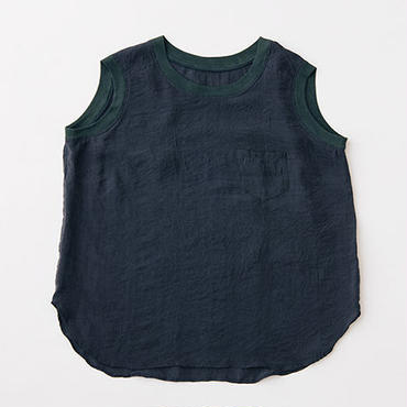 Silk sleeveless tops