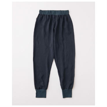 Silk pants rib