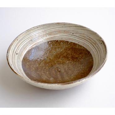 七寸刷毛目淺鉢(bowl)