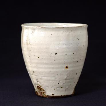灰釉粉引フリーカップ大