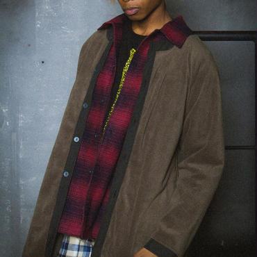 FLEECE LONG JK / khaki
