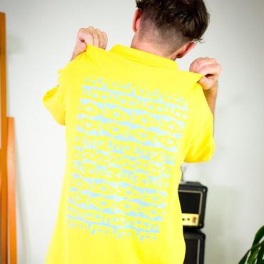 SHAKER POLO / yellow