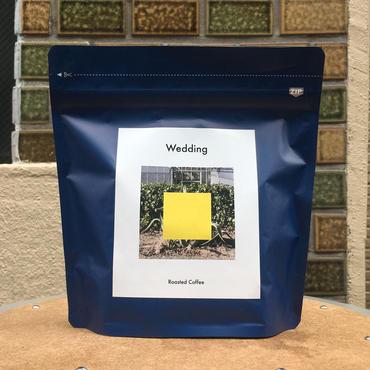 音楽付きコーヒー豆「Wedding」