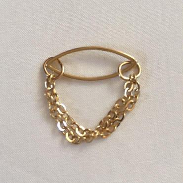 Secret chain ring