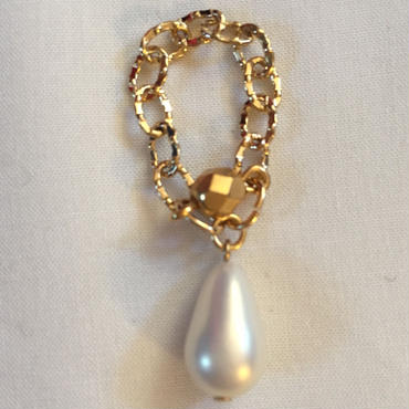 Drop chain ring
