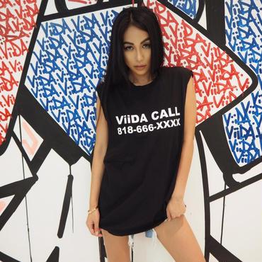 ViiDA CALL タンク(black)