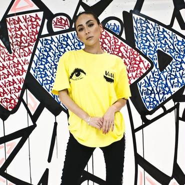 Wink Tee(yellow)