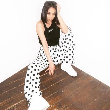 DOT PANTS (white)