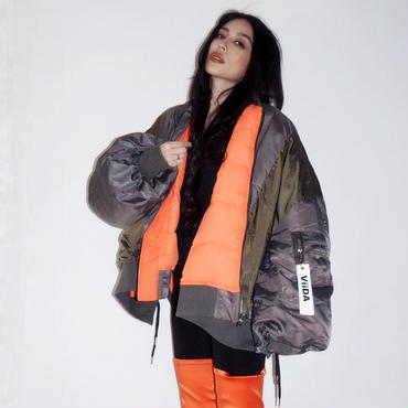 ViiDA MA1ジャケット(khaki)