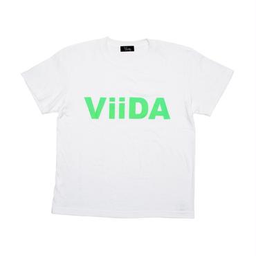 ViiDA LOGO Tee (white/green)