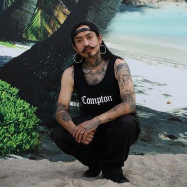 Compton タンク (black)