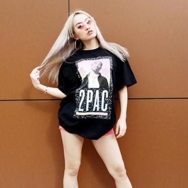 "ViiDA×2PAC official Tee  ""MIX"" (black)"