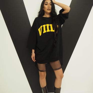 ViiDA裾メッシュTee(black)