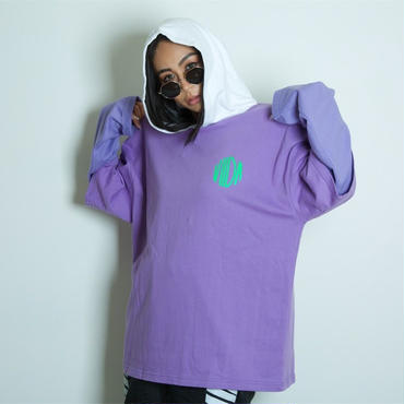 ViiDA HOOD Tee(purple)