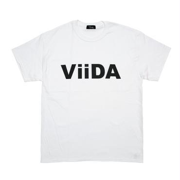 ViiDA LOGO Tee (white/black)