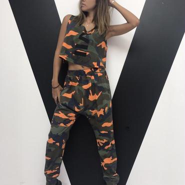 VIIカモフラパンツ(orange)
