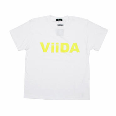 ViiDA LOGO Tee (white/yellow)