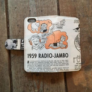 "旧モデルSALE!Vintage Ad iPhone6/6s Case, ""Radio Jambo"""