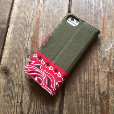 Bandanna x O.D. Green  iPhone6/6s, 7 & 8 Case, Red