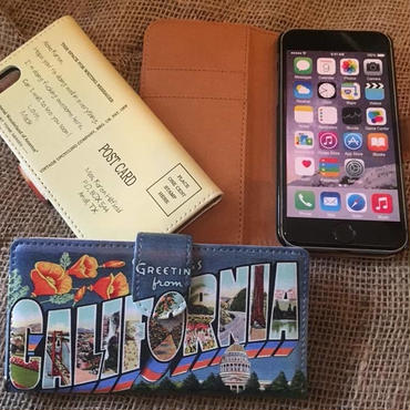 40's Souvenir Poscard iPhone7 & 8 Case, California