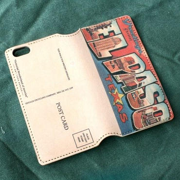 """Pictorial Wonderland of America"" iPhone6/6s Leather Case, ""El Paso"""